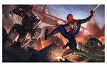 Spider-Man vs. Rhino and Scorpion: Marko Djurdjevic (print), Insomniac Games
