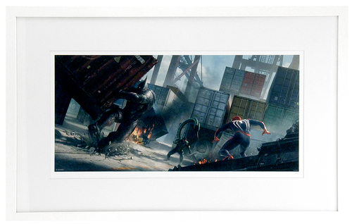 Marvel's Spider-Man: Rhino and Scorpion Concept (FRAMED #1), Insomniac Games