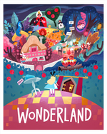 Alice in Wonderland (print), Joey Chou