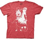 Naruto & Sasuke Shirt (Red)