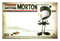Morton: The Bad Luck Bot, Greg Baldwin