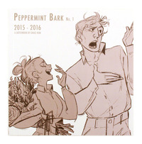 Peppermint Bark No. 1 (2015-2016): A Sketchbook by Grace Kum, Grace Kum
