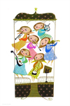 Band of Angels (print), Mary Blair