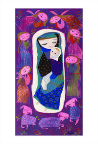 Mary (print), Mary Blair